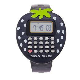 relógios analógicos crianças Desconto Crianças digital relógio com calculadora homens data impermeável led digital esporte analógico de quartzo dos homens relógio de pulso montre homme