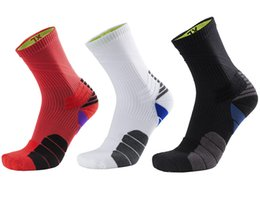 Wholesale golf cut - Compression Running Socks Low Cut Hiking Cushion Socks Cotton Outdoor Cycling Socks Mens Support FBA Drop Shipping G525S