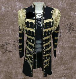 женская одежда из леопарда Скидка Men Leopard Suits Designs Homme Terno Stage Costumes For Singers Men Sequin Blazer Dance Clothes Jacket Style Dress Punk Rock
