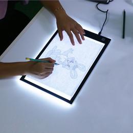 Refroidir LED graphique tablette écriture peinture boîte à lumière traçage Conseil tampons de copie tablette de dessin numérique Artcraft A4 tableau de copie LED Conseil éclairage ? partir de fabricateur