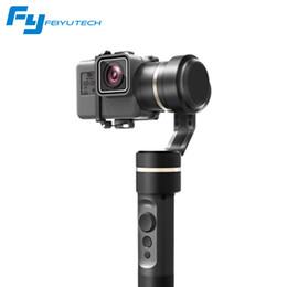 Deutschland NEU Feiyu G5 3-Achsen Handheld Gimbal Anti-Shake Handheld Stabilisator für Hero 5 4 3 und ähnliche Größen Action Kamera Spritzwassergeschützter Selfie Stick Versorgung