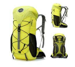 Wholesale Country Bags - Wholesale and retail outdoor sports double shoulder bag mountaineering trip package large capacity cross-country package Fashion folding bag