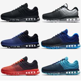 Wholesale Summer Sportswear Women - 2017 New Style High Quality Mesh Knit Sportswear Men Women Maxes 2017 Running Shoes Cheap Sports Maxes Trainer Sneakers Eur 40-46
