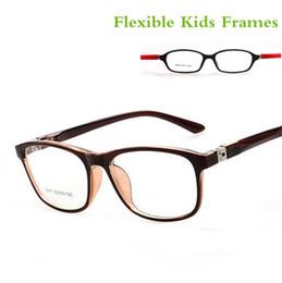 4b53f79d48c3 TR90 Children Optical Frame Eyewear Wholesale Eyeglasses 7 Colors Double  Color Cool Style Girls Boys Kids Glasses Frames on sale
