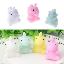 Wholesale Funny Stress Reliever - New Mixed Color Cute Squishy Unicorn Healing Squeeze Funny Kids Toy Gift Stress Reliever Soft Decor