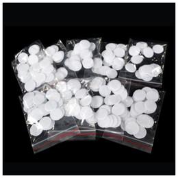 Filtro de algodão microdermabrasion on-line-Promoção 1000 pcs por lote de diamante dermoabrasão Peeling Microdermoabrasão de algodão filtros de peças da máquina de beleza mista 11mm e 18mm