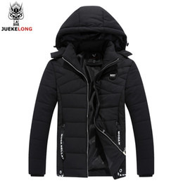 Wholesale Cuff Ribbing - Winter Jacket Men Coats Classic Short Thick Inner Pocket And Threaded Knitted Cuffs Design Brand Parka Men Clothing Zipper Coat