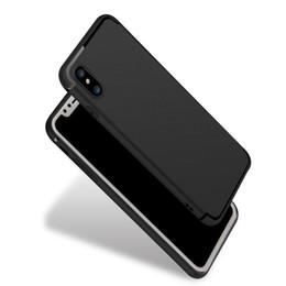 2019 iphone rojo negro funda silicona NUEVO estuche original para iPhone 10 Ultra delgado 4 colores Funda de silicona roja roja negra para Apple iPhone X Edition Fundas Shell iphone rojo negro funda silicona baratos