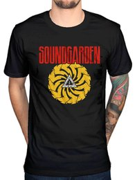 Wholesale motor t shirts - Official Soundgarden Bad Motor Finger T Shirt Louder Than Love Superunknown Rock