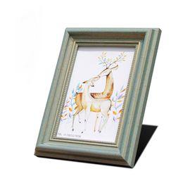 móveis finais Desconto Mobiliário de mobiliário de quadro de vidro Europeu antigo Presentes de estúdio high-end presentes de casamento Roman quadro verde