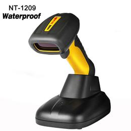 2019 supermercado scanner Alta qualidade à prova d 'água sem fio Handheld Scanner 1D leitor de código de Barras laser de alta velocidade scanner de código de barras sem fio para o Supermercado supermercado scanner barato