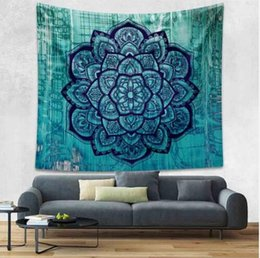 yoga mattress Coupons - Indian Mandala Wall Hanging Tapestry Hippie Home Decorative 210x150 Yoga Mattress Table Cloth Bohemian Tapestries Murale