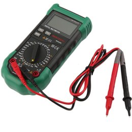 Mastech MS8269 3 1/2 Multímetro Digital LCR Medidor AC DC Volt Amp Ohm Freqüência Capacitância Transistor de Teste de