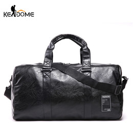 44add3636013 men leather travel gym bags Coupons - Pu Leather Gym Man Waterproof Female  Sport Shoe Bag