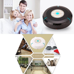 Wholesale Wholesale Ceramic Floor Tile - Robotic Vacuum Cleaner Sweeper robot 360°automatic rotation Carpet Wood floor Stone floor Ceramic tile Animal hair cleaning DHL free