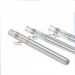 Gros verre cigarette électronique BUD D1 jetable vape stylo 0,5 ml cartouche réservoir avec élément de chauffage en céramique ? partir de fabricateur