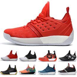 Wholesale High James - 2018 Best james harden 2 vol Men's Basketball Shoes High Quality Trainer Sport Sneaker size 40-46