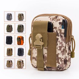 Wholesale Military Water Pack - Hot Sale Tactical Molle Pouch Belt Waist Bag Military Fanny Pack Outdoor Pouches Phone Case Pocket For Mobile Phones