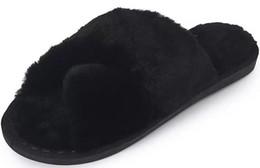 pantoufles de coton nouvelle version coréenne de bout ouvert chaussures d'hiver d'hiver à la maison chaude mois laine antidérapante ? partir de fabricateur