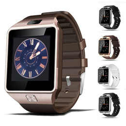 kid smart mobile phone Promo Codes - DZ09 Smart Watch Wristband Watches Android Watch Smart SIM Intelligent Mobile Phone Sleep State With Retail Package