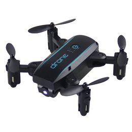 Regalo Plegable Mini 6-Axis 2.4GHz 4CH Drones Mini One Button Landing Quadtcoper Nuevo 6-Axis Gyro 2.4GHz 4CH Drone Performance desde fabricantes