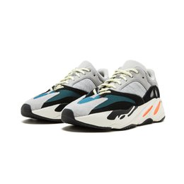 Wholesale Courts Basketball - Flash Deal Kanye West Wave Runner 700 Boots Mens Women Basketball Shoe Athletic Sport Shoes Running Outdoor Travel Exercise Workout Shoes