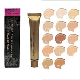 Wholesale Dhl Base - Dermacol Concealer Foundation Make Up Cover 14 colors Primer DC Concealer Base Professional Face Makeup Contour Palette Makeup Base DHL ship
