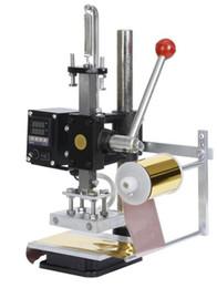 Papel de impressão on-line-China supplers produtos de qualidade manual hot stamping máquina de carimbo para marca de couro t-shirt sapato