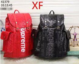 Wholesale Designer Name Handbags - 2018 New Brand Name Fashion PU leather handbags women famous brands designers tote shoulder Backpack bags Travel bag Free Shipping