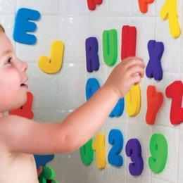 Canada 72 PCs Alphanumérique Lettre Bain Puzzle Souple EVA Enfants Bébé Jouets Nouvelle Début Éducatifs Enfants Outil Jouet De Bain Drôle Jouet cheap eva baby toys Offre