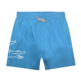 Maiôs de quadril on-line-Atacado-Quick Dry Mens Beach Shorts Marca Mens Shorts Casual Swimwear maiôs dos homens Shorts Hip Hop Mens Bermuda Tamanho M-2XL