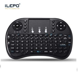 Teclado mouse tv remoto on-line-Rii mini-i8 Wreless Keyboard Air Mouse Multi-Media Remote Control Touchpad Handheld Teclado para Smart TV mini-caixa de tv Android TX3