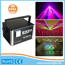 Wholesale Beam Laser Club Lighting - Concert party bar club laser beam show RGB Full Color 10W RGB Animation laser show professional stage lighting