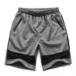 Wholesale Fat Clothing - Free shipping Plus size men's clothing fat capris shorts plus size thin hip hop casual big short trousers 2xl 4xl 8xl