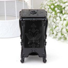 Wholesale High Seat Toilets - Wholesale- 2016 New Design black transparent Tissue Box High Quality Plastic Holder Large Rack Broader Tissue Box