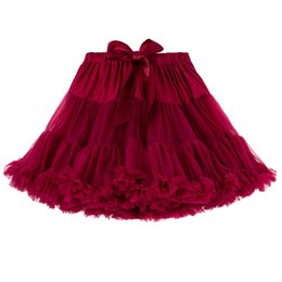 Wholesale United Yarn - Europe and the United States Stitching Lovely Sweet Cotton Bow Lace Printed Yarn Skirt Princess Dress Children Skirt