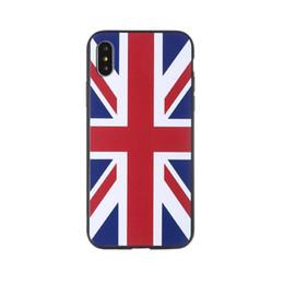 Wholesale 2018 Russia Coppa del Mondo Squadra Nazionale Bandiera Spagna Tedesco Russo US Regno Unito Corea Antiurto TPU copertura della cassa del telefono PC per iPhone X Plus S p