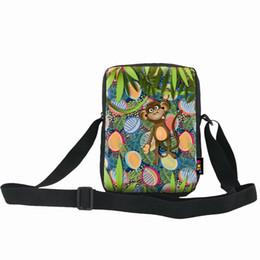 Canada Sac de singe vert messenger simple épaule ONE2 Design haute qualité vente chaude animal pour les étudiants Offre