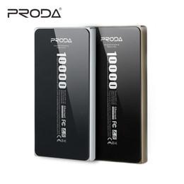 vente en gros Proda Powerbank 10000 mAh Alliage Slim Polymère Batterie Externe Batterie 10000MAh Poverbank Pour Xiaomi IPhone Chargeur Universel ? partir de fabricateur