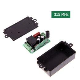 2019 module de relais unique Pratique AC 220 V 1CH 315 MHz Télécommande sans fil Système de récepteur Module AK-RK01S-220-A Commandes de commutateur sans fil