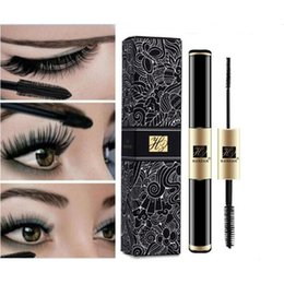 Wholesale Mascara Growth - Waterproof Double-headed eyelash mascara makeup Curling Thick Growth Extend Eyelashes Cosmetic Tools cosmetic Mascara free shipping