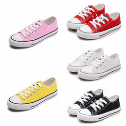Rabatt Kinder Leinwand Sport Schuhe Schnürsenkel | 2020
