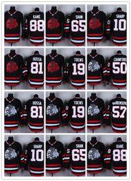 2018 hombres del jersey de los blackhawks Hombres Chicago Blackhawks Winter Classic Jersey 88 Patrick Kane 19 Jonathan Toews 65 Andrew Shaw 2 Keith 81 Hossa Hockey Jerseys hombres del jersey de los blackhawks baratos