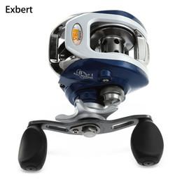 2019 литейное оборудование Exbert передаточное отношение: 6.3: 1 8 + 1 подшипники рыболовная катушка высокая скорость приманки литье воды падение колеса прочный для рыбалки скидка литейное оборудование