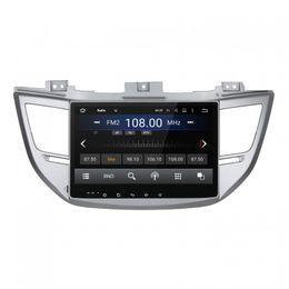 Hyundai bluetooth car dvd online-Reproductor de DVD del coche para HYUNDAI IX35 2015 Octa-core 10.1inch Andriod 8.0 Octa core 4GB RAM con GPS, control del volante, Bluetooth, radio