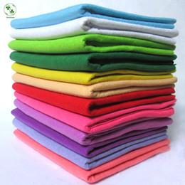 artisanat de feuille à la main Promotion 90X92CM peut choisir la couleur feutre doux 1.5mm feutre épais bricolage tissu à la main non-tissé artisanat doux tissu simple 1 feuille