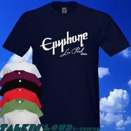 Canada EPIPHONE - T-shirt - Les Paul Modèle Guitare Électrique Classique Gibson Drôle livraison gratuite Unisexe Casual tee cadeau cheap electric guitar gifts Offre