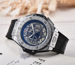 Wholesale Watch Solar - 2017 new fashion luxury high-end men's watch size 44mm 6-pin full-featured quartz new