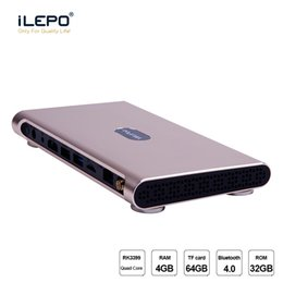 Wholesale Android Streaming Media - 4GB 32GB 4K Smart TV Box Android 7.1 Rockchip RK3399 IPTV Box Metal shell K10 streaming media player support Dual WiFi Antenna BT4.0