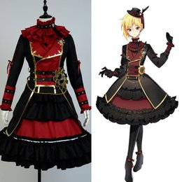 Wholesale anime cosplay gowns - Ensemble Stars Valkyrie Nito Nazuna Cosplay Costume Outfit Suit Party Dress Gown